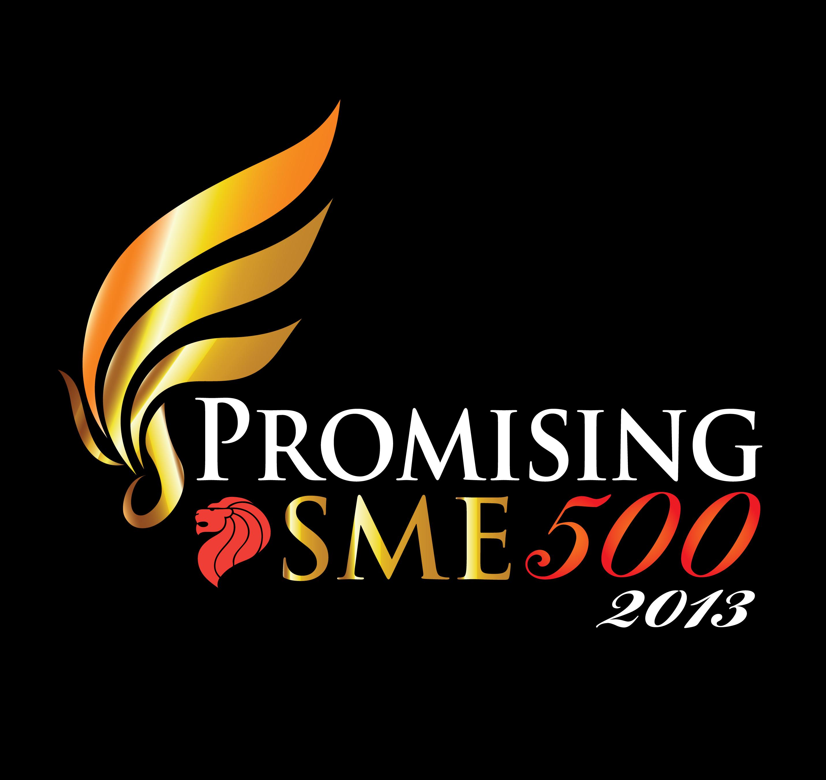 2. Promising SME 500 2013 Logo Black Background